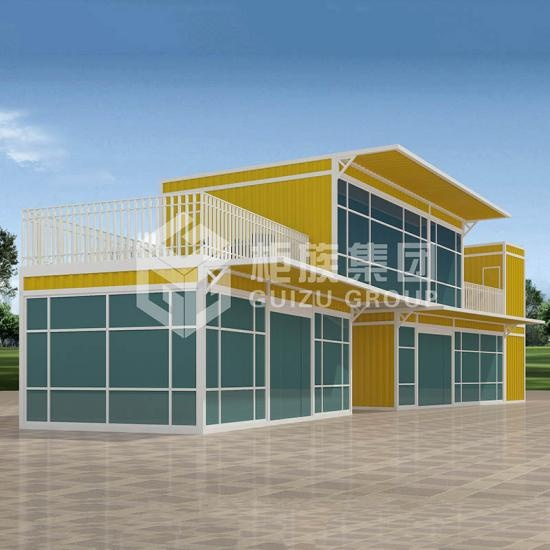 prefab office building