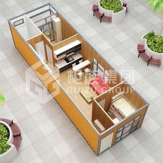 one bedroom container home