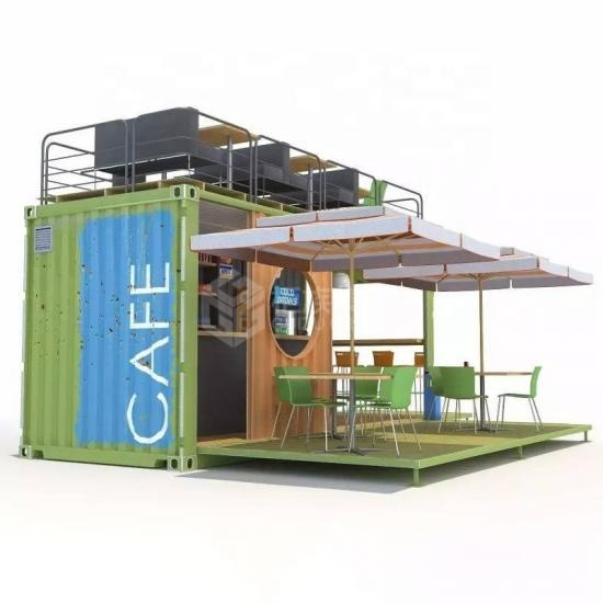 container coffee shop bar
