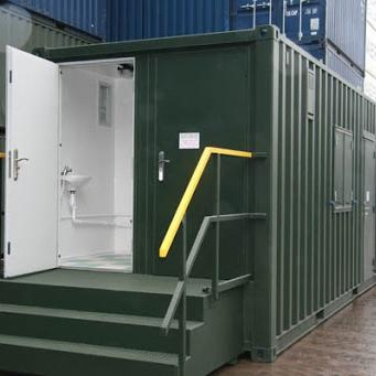 Outdoor Mobile Portable Prefabricated Toilets